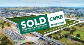 Development / Land commercial property sold at Mernda Town Centre Corner Plenty Road & Bridge Inn Road Mernda VIC 3754