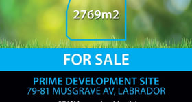 Development / Land commercial property for sale at 79 Musgrave Avenue Labrador QLD 4215