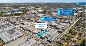 Factory, Warehouse & Industrial commercial property leased at 43 Sarton Road Clayton VIC 3168