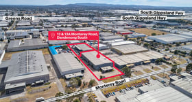 Factory, Warehouse & Industrial commercial property sold at 13 & 13A Monterey Road Dandenong South VIC 3175