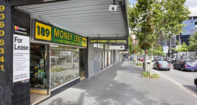 Shop & Retail commercial property for lease at 187-189 William Street Darlinghurst NSW 2010