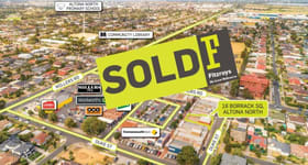 Retail commercial property sold at 16 Borrack Square Altona North VIC 3025