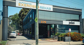 Offices commercial property sold at 376 Heidelberg Road Fairfield VIC 3078