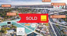 Development / Land commercial property sold at 44-46 Station Road Cheltenham VIC 3192