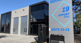 Industrial / Warehouse commercial property for sale at Unit 17/19-21 Export Dr Brooklyn VIC 3012