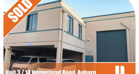Factory, Warehouse & Industrial commercial property sold at 14 Hampstead Road Auburn NSW 2144