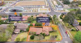 Development / Land commercial property sold at 1 Partridge Avenue Castle Hill NSW 2154