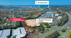 Development / Land commercial property sold at 219-223 Burleigh Connection Road Burleigh Heads QLD 4220