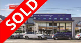 Offices commercial property sold at Office 2, 1127 High Street Armadale VIC 3143