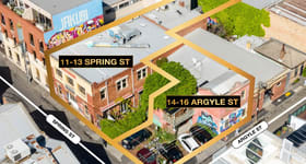 Development / Land commercial property for sale at 11-13 Spring Street & 14-16 Argyle Street Fitzroy VIC 3065