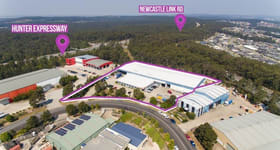 Factory, Warehouse & Industrial commercial property sold at Whole/39 Stenhouse Drive Cameron Park NSW 2285
