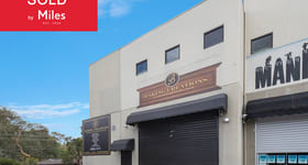 Factory, Warehouse & Industrial commercial property sold at 5/256 Bolton Street Eltham VIC 3095