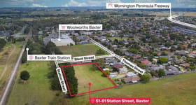 Development / Land commercial property sold at 51 - 61 Station Street Baxter VIC 3911