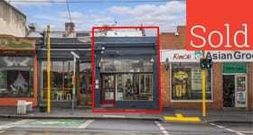 Shop & Retail commercial property sold at 159 Brunswick Street Fitzroy VIC 3065