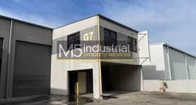 Factory, Warehouse & Industrial commercial property sold at G7/5-7 Hepher Road Campbelltown NSW 2560