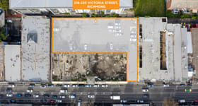 Development / Land commercial property for sale at 218-220 Victoria  Street Richmond VIC 3121