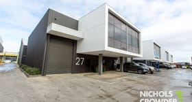 Factory, Warehouse & Industrial commercial property for sale at 27/337 Bay  Road Cheltenham VIC 3192