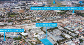 Factory, Warehouse & Industrial commercial property for sale at 89 Fitzroy Street Marrickville NSW 2204