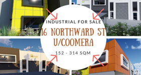 Factory, Warehouse & Industrial commercial property for sale at 16 Northward Street Coomera QLD 4209