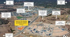 Development / Land commercial property for sale at Lot  1/Block 1 Section 60 Coombs ACT 2611