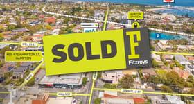 Development / Land commercial property sold at 466-476 Hampton Street Hampton VIC 3188
