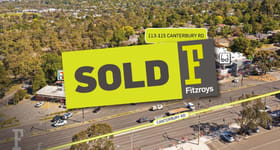 Development / Land commercial property sold at 113-115 Canterbury Road Heathmont VIC 3135