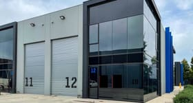 Factory, Warehouse & Industrial commercial property for sale at Unit 12/12/19 Export Drive Brooklyn VIC 3012