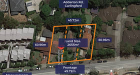 Development / Land commercial property for sale at 125-129 Adderton Road Carlingford NSW 2118