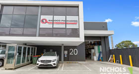 Factory, Warehouse & Industrial commercial property for sale at 20/337 Bay Road Cheltenham VIC 3192