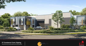 Factory, Warehouse & Industrial commercial property for sale at 27 Constance Court Epping VIC 3076