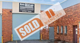 Factory, Warehouse & Industrial commercial property sold at Unit 10/112 Ashford Avenue Milperra NSW 2214