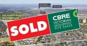 Development / Land commercial property sold at 1005 Plenty Road South Morang VIC 3752