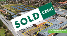 Showrooms / Bulky Goods commercial property sold at 317-319 Warrigal Road Cheltenham VIC 3192