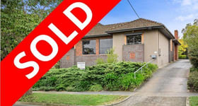 Medical / Consulting commercial property sold at 1 Ellsa Street cnr Doncaster Road Balwyn North VIC 3104