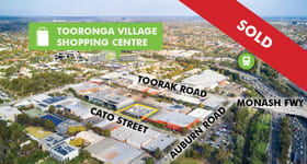 Offices commercial property sold at 8 & 10 Cato Street Hawthorn East VIC 3123