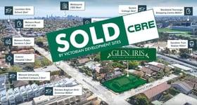 Development / Land commercial property sold at 1579-1581 Malvern Road Glen Iris VIC 3146
