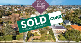 Development / Land commercial property sold at 488 Barkers Road Hawthorn East VIC 3123