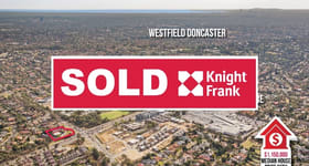 Development / Land commercial property sold at 136-140 Andersons Creek Road Doncaster East VIC 3109