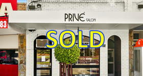 Shop & Retail commercial property sold at 87 & 87A Chadstone Road Malvern East VIC 3145