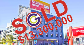 Showrooms / Bulky Goods commercial property sold at 187-191 Parramatta Road Camperdown NSW 2050