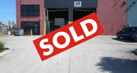 Factory, Warehouse & Industrial commercial property sold at 39 Stanley Drive Somerton VIC 3062