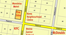 Development / Land commercial property sold at 29B Bowen Street Roma QLD 4455