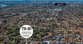 Development / Land commercial property sold at 79-81 Liverpool Road Burwood NSW 2134