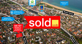 Development / Land commercial property sold at 55-57 Barkly Street Mordialloc VIC 3195
