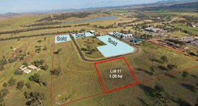 Development / Land commercial property sold at Lot 11, 29 Enterprise Crescent Muswellbrook NSW 2333