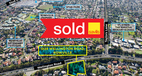 Development / Land commercial property sold at 1028 Wellington Road Rowville VIC 3178
