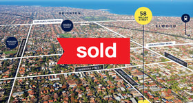 Development / Land commercial property sold at 58 Wilgah Street St Kilda East VIC 3183