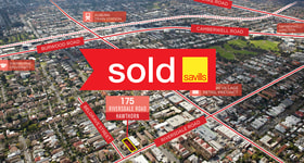 Offices commercial property sold at 175 Riversdale Road Hawthorn VIC 3122