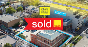 Development / Land commercial property sold at 71-75 Argyle Street Fitzroy VIC 3065