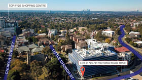 Shop & Retail commercial property for lease at Lot 2/723-731 Victoria Road Ryde NSW 2112
